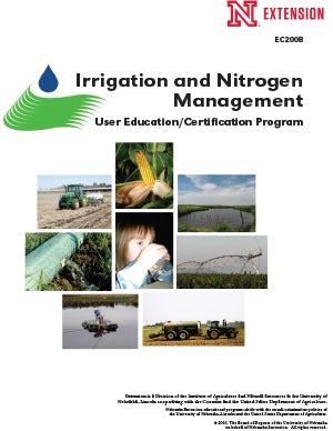 Irrigation and Nitrogen Management