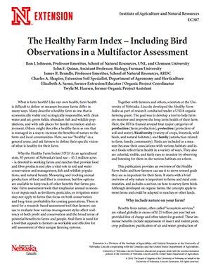 The Healthy Farm Index