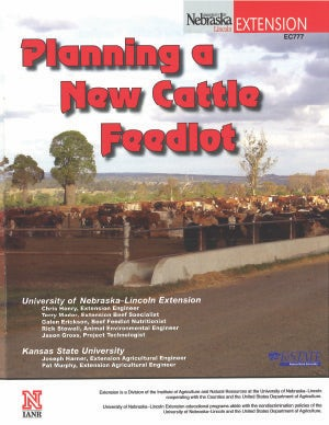 Planning a New Cattle Feedlot