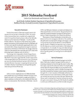 2015 Nebraska Feedyard