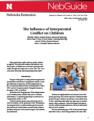 The Influence of Interparental Conflict on Children (G2305)