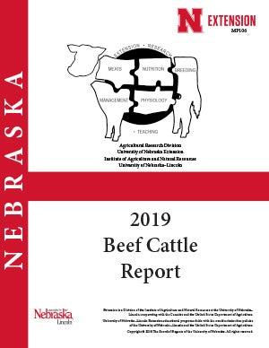 2019 Nebraska Beef Cattle Report