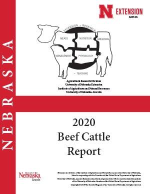 2020 Nebraska Beef Cattle Report